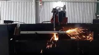 Nhận gia công cơ khí cắt ống Phú Bình CNC Plasma