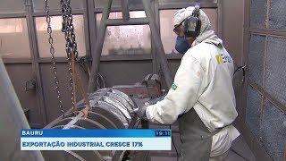 Bauru: exportações industriais crescem 17% no primeiro semestre