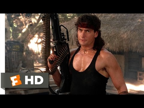 Hot Shots! Part Deux (4/5) Movie CLIP - Bloodiest Movie Ever (1993) HD