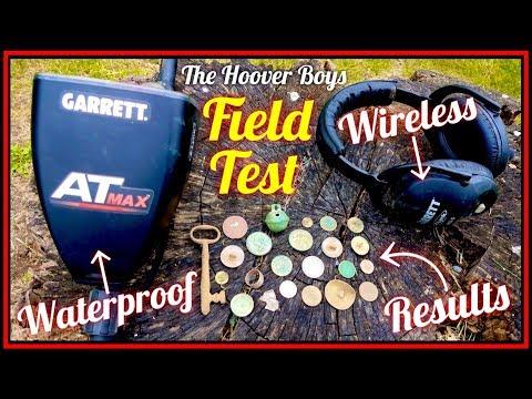 NEW Garrett AT Max - Waterproof Wireless - Metal Detecting Field Test Results