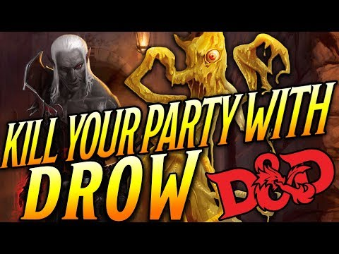 KYPW: Drow - Dungeons And Dragons 5e