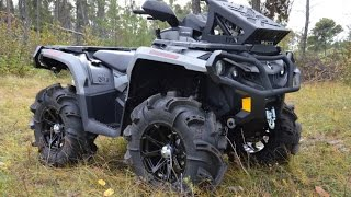 6. 2015 Canam Outlander 650XT Technical Specification