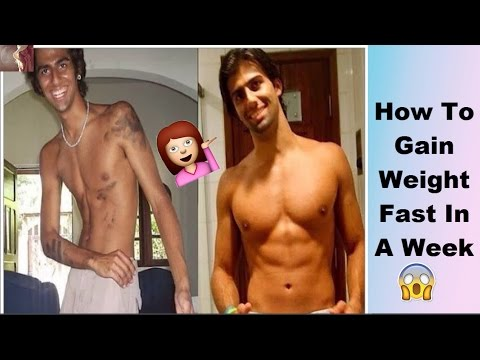 How To Gain Weight Fast | Homemade Recipe | Get Results In A Week