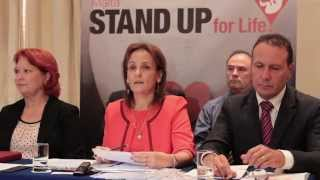 Malta...Stand Up for Life! Press Conference by Life Network