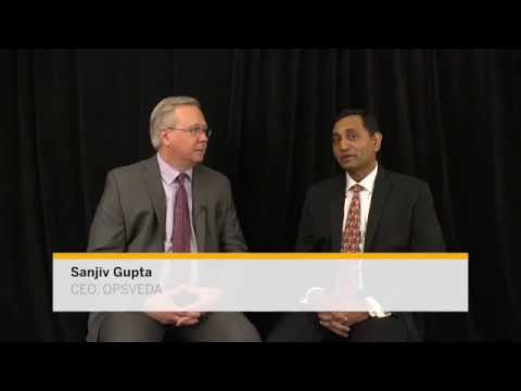 OpsVeda CEO, Sanjiv Gupta interviewed by Jim Fields, VP, SAP Marketing- Simplify to innovation