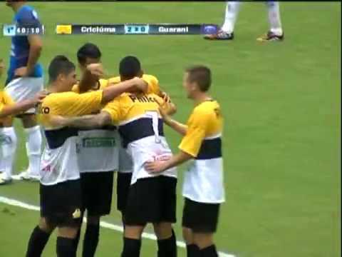 Criciúma 3x1 Guarani - Campeonato Catarinense 2015