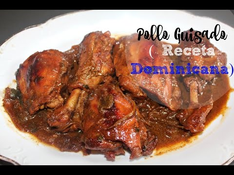 Facil Pollo Guisado Dominicano