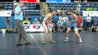 Norton (KS) United States  city images : Cadet 126 - Wyatt Lee (Colorado) vs. Tyler Norton (Kansas)
