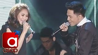Sarah Geronimo sings 'Love Me Harder' with Sam Concepcion