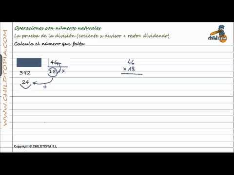 Vídeos Educativos.,Vídeos:Prueba de la división 5