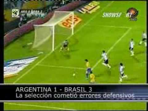 Brasil vs Argentina, eliminatorias 2010