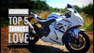 5. Top 5 things I love about the 2018 Suzuki GSXR1000R