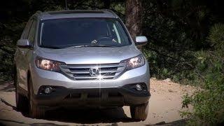 2012 Honda CR-V Off-Road Review&Drive