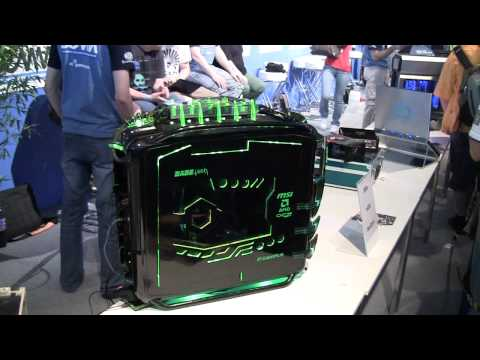 Modding - Part 1 of German Case Modding Championship footage at Gamescom 2009 show in Köln , Germany. This part shows 3 systems from the team we were associated with.
