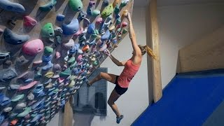 Bouldering On The Systemwall With Norea by Eric Karlsson Bouldering