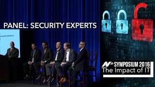 Nth Symposium 2016: Security Expert Panel video