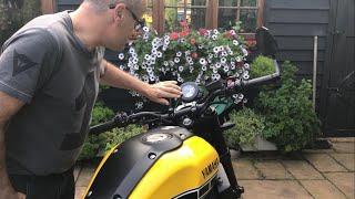10. 2017 HONDA AFRICA TWIN & YAMAHA XSR900, Riding to Yamaha dealer and random chat