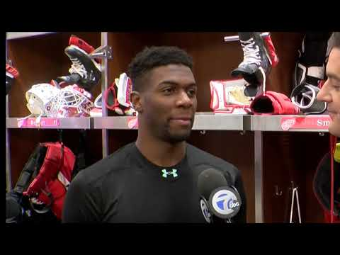 Givani Smith believed he belonged on Red Wings roster, and he's proving it