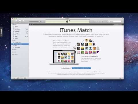 enable itunes match - In this screencast I walk through the set up process for iTunes Match. I talk about what iTunes Match is and record my process of signing up and starting the...