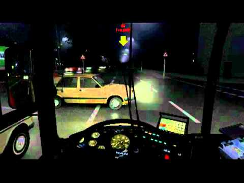 OMSI bus simulator MAN SD202 Game Test