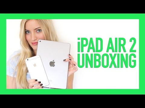 [2] - Unboxing the new Apple iPad Air 2 with size comparison to the iPad Mini and iPhone 6 Plus Subscribe for more: http://www.youtube.com/subscription_center?add_user=ijustine PREV: ...