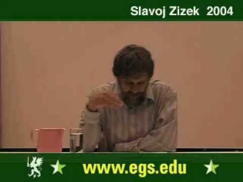 Slavoj Zizek. Plea for Ethical Violence. 2004 2/6