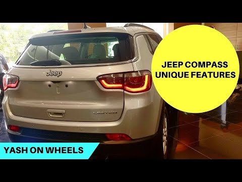 Jeep Compass - 8 Unique Features | Yash on Wheels