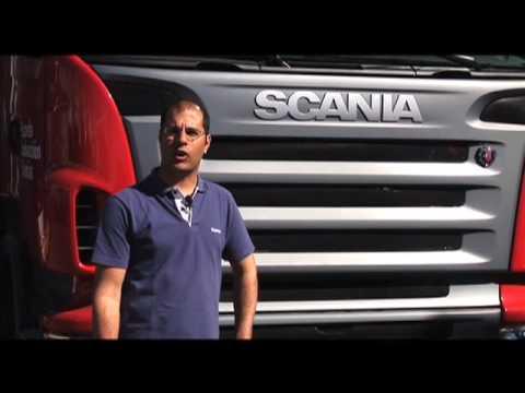 camion scania - Damián Garcia Quadri, responsable de la Escuela de Conducción Scania, realiza un repaso de los aspectos a tener en cuenta antes de emprender la ruta con tu c...