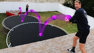 Video DONT Double Bounce into the Wrong Solo Cup!! *BOWLING BALL PUNISHMENT PONG* MP3, 3GP, MP4, WEBM, AVI, FLV Juli 2019