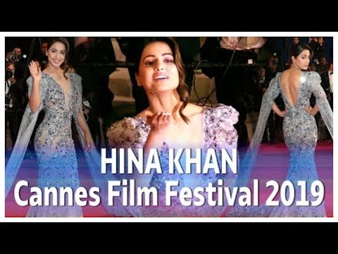 Hina Khan Was Looking Beautiful At Cannes Film Festival 2019