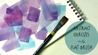 Hello my fantastic friends this is a new watercolor tutorial about abstract exercises with flat brush. These exercises are perfect for beginners and for everyone who wants to just relax, making something usefull and good looking at the same time. The abstract shapes are cool to be used as decorations for your planner or for your home. VOTE my INSTAGRAM post if you want the TUTORIAL: https://www.instagram.com/p/BRBkLmRjGTC/?taken-by=fantasvaleMy facebook page: https://www.facebook.com/Fantasvale/