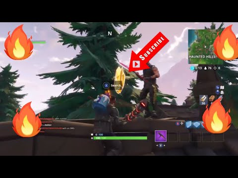 Follow the treasure map found in snobby shores (Fortnite Battle Royale )