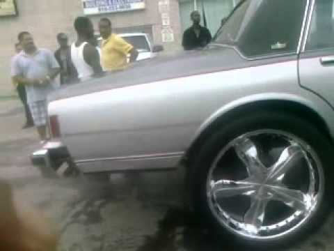 Chevy Caprice Beatin on 26s n (2) 18