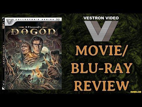 DAGON (2001) - Movie/Blu-ray Review (Vestron Collector's Series)