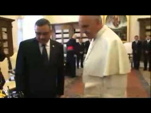 Audiencia privada con el Papa