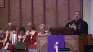 "Sermon: ""Peace with God""; Rev. Craig Wright, December 4, 2016 ~ Second Sunday of Advent"