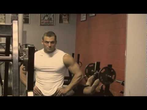 Ryan Hughes - HughesFIT Video Series - IFBB Pro Ryan Hughes trains Shoulders at Bev Francis Powerhouse Gym in Syosset, New York. Music: Skrillex - Breakn' a Sweat (Bangara...