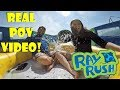 Ray Rush Aquatica Orlando Real POV Video!