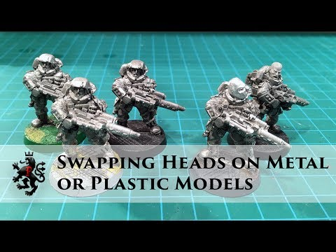 Swapping Heads on Metal (or Plastic) Models - Super Easy Conversion