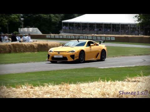 Lexus LFA Nurburgring Edition - DRIFT, Startups, Flat Out and LFA Race Car!