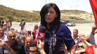 الافراج عن النائب خالدة جرار بعد قضاء محكوميتها البالغة 15 شهراً