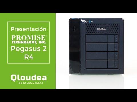 Pegasus 2 R4 Capacidad 8TB