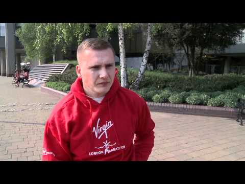 David Weir, London Marathon Men's Wheelchair Champ talks about his victory.