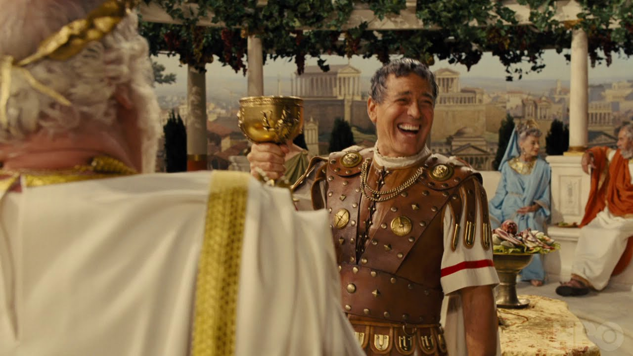 On HBO. The Coen Brothers' 'Hail, Caesar!' [Clip] with George Clooney & Josh Brolin and an All-star Cast