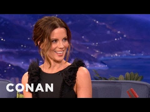 Conan - Kate Beckinsale Talks About Total Recall