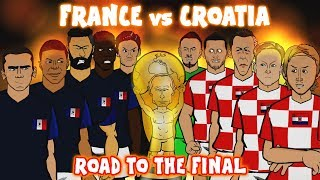 Video 🏆France vs Croatia: THE ROAD TO THE FINAL🏆 (World Cup 2018 Preview Montage) MP3, 3GP, MP4, WEBM, AVI, FLV Agustus 2018