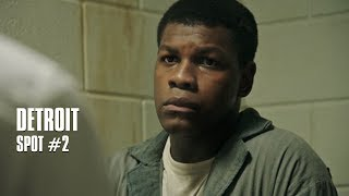 Abonnez-vous : http://bit.ly/AbonnezVousYThttps://www.facebook.com/Detroit.lefilm/Spot #2 de DETROIT, un film de Kathryn Bigelow avec John Boyega, Will Poulter, Jack Reynor, Anthony Mackie, Jacob Latimore, Hannah Murray.Sortie le 11 octobre 2017