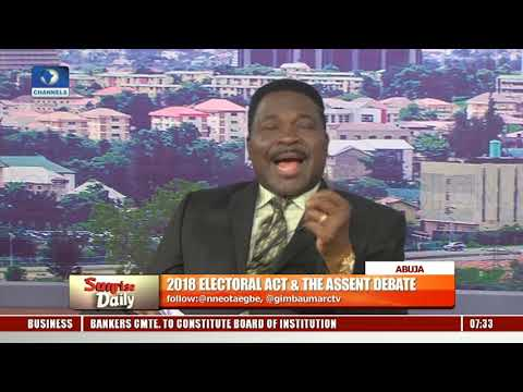 Amended Electoral Act Aims To Sanitise 'Corrupt Electoral System'-- Ozekhome |Sunrise Daily|