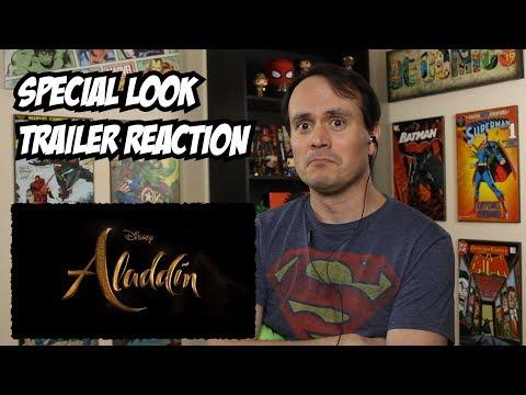 Disney's Aladdin (2019) - Special Look REACTION