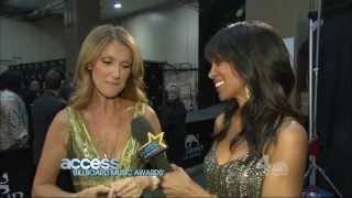 Celine Dion Talks About Madonna At 2013 Billboard Music Awards Backstage [HD 1080p]